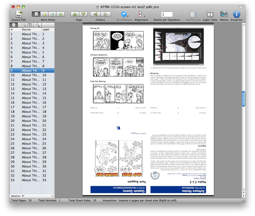 Review: PDFClerk Pro 3.9.3