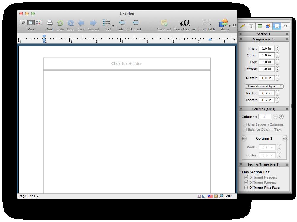 nisus writer pro 2j for mac